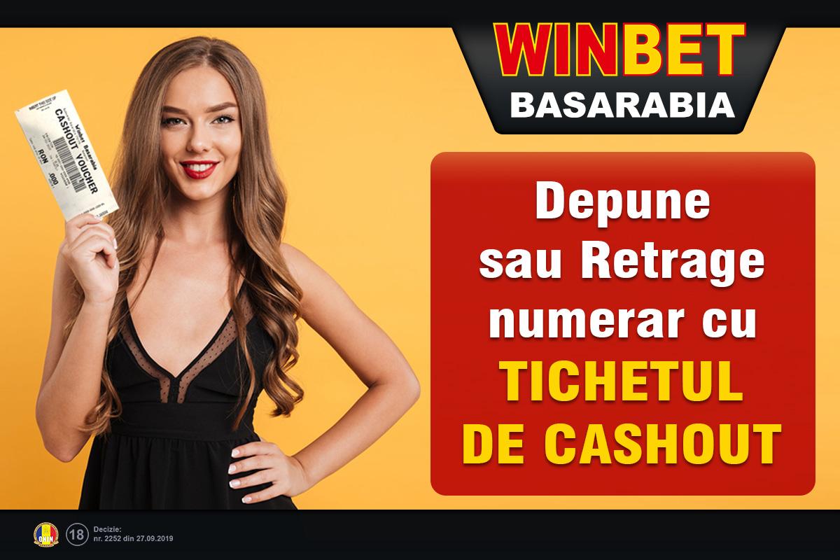 Cu noul tichet de cashout îți poți retrage câștigul singur