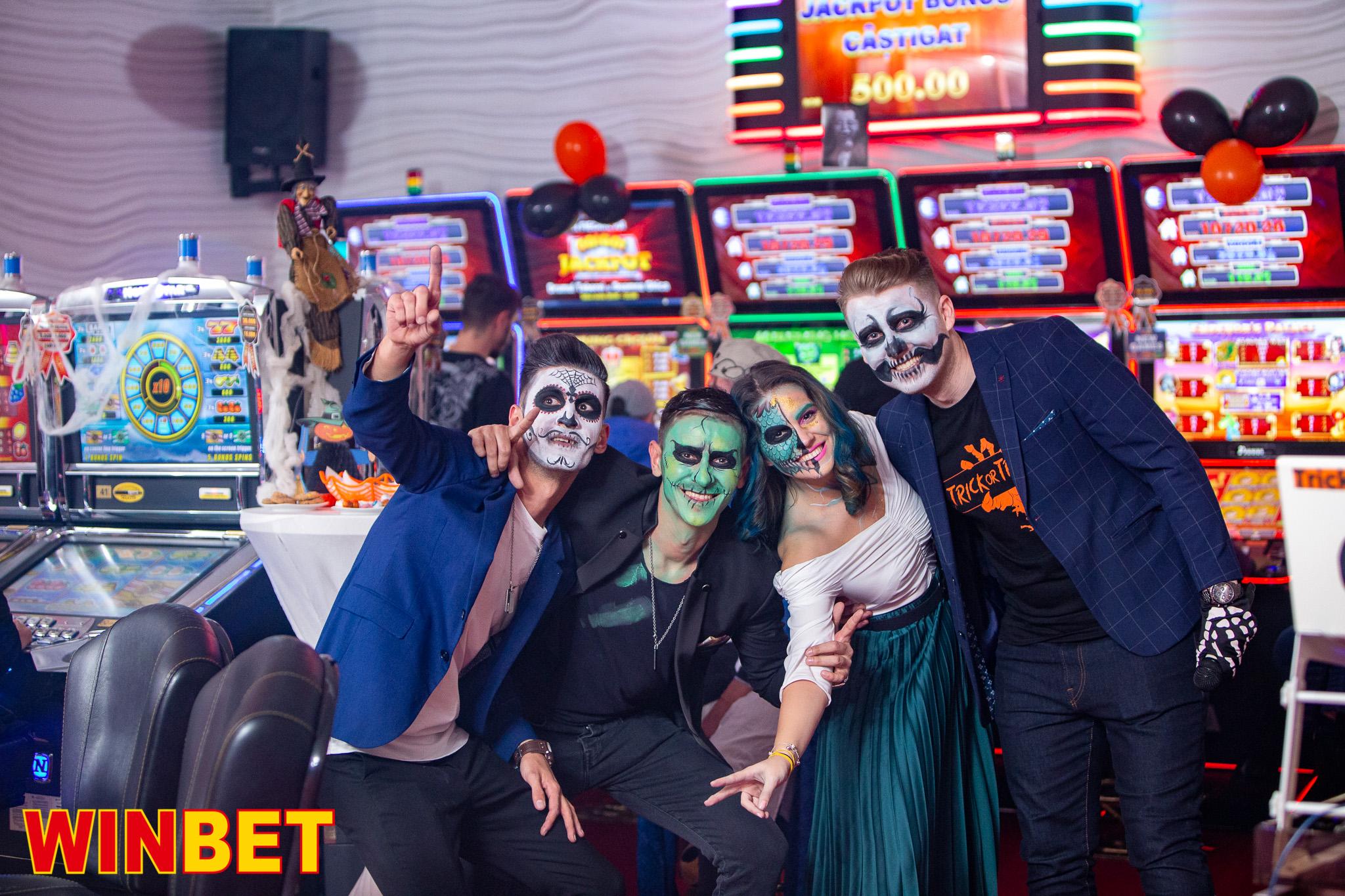 Petrecere Halloween WinBet Vitan