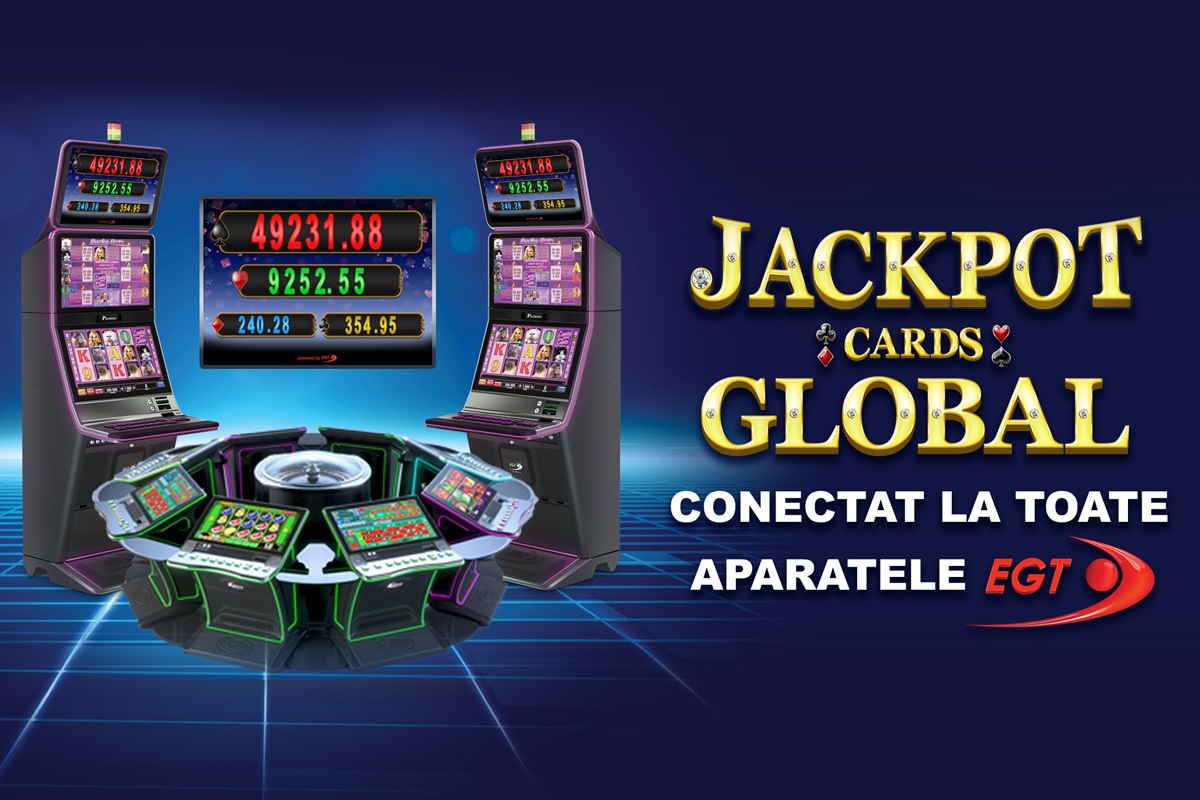 JACKPOT CARDS GLOBAL CONECTAT LA TOATE APARATELE EGT