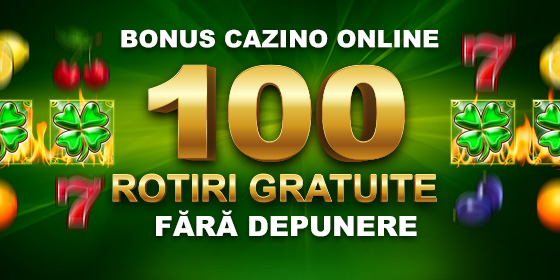 Bonus 100 Rotiri Gratuite la înregistrare pe WINBET.ro